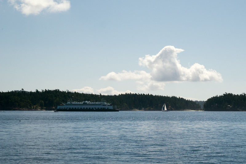Ferries, Sailboats, and the Wasp Islands