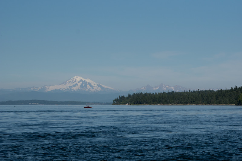 Mount Baker, shot from the north end of Orcas Island