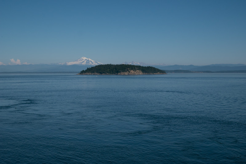 Looking East from Johnson Point, Sucia Island