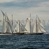 Brilliant, Mystic Whaler and Columbia