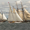 Schooners Amistad, Brilliant and Mystic Whaler