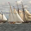 Schooners Amistad, Brilliant and Mystic Whaler