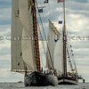 VIRGINIA and MYSTIC WHALER<br /> First Annual Morgan Cup Race, CT Schooner Festival Virginia