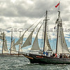 MARY E and MYSTIC <br /> First Annual Morgan Cup Race, CT Schooner Festival