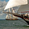MYSTIC WHALER and VIRGINIA<br /> First Annual Morgan Cup Race, CT Schooner Festival Virginia