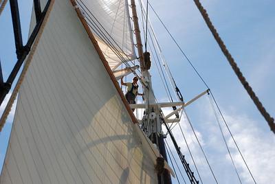 working aloft