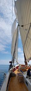 Warm day under sail