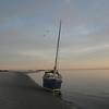 Dawn, tide returning under the Peep Hen.<br /> [photo: Sandy Ward]