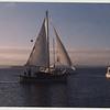 """Casco Bay 2003.  Falmouth cutter """"New Salt"""" northeast of Little Chebeague Island.<br /> [photo: Mary Ellen Alicandri]"""