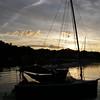 Sunrise, Annisquam River, Gloucester, MA.<br /> [photo by Sandy Ward]