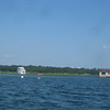 more floating cottages on the Annisquam -- I would adopt the one on the left in a flash!<br /> [photo by Sandy]