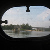 floating cottage, as seen from inside the Peep Hen cabin<br /> [photo by Sandy]