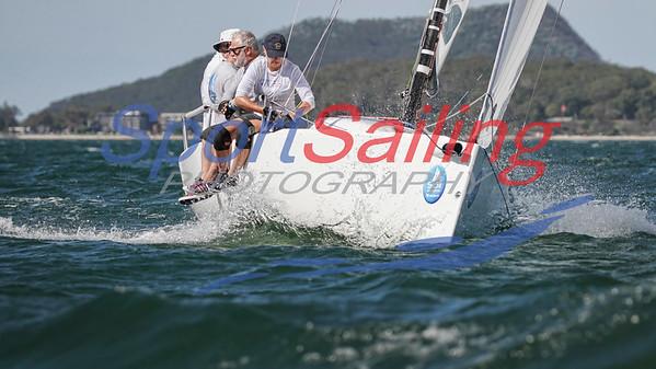 Sports Boat National Titles 2018 - Sail Port Stephens  Sail Port Stephens Sports Boats by Beth Morley / www.sportsailingphotography.com