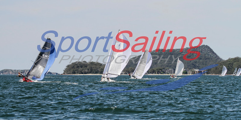 Sail Port Stephens Sports Boats by Beth Morley / www.sportsailingphotography.com