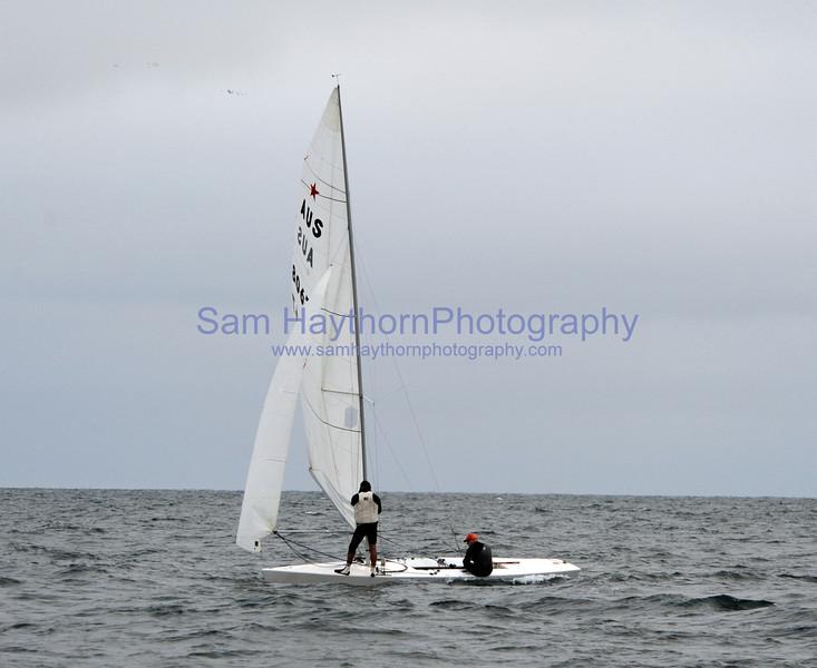 Three fleet races, Thursday August 23rd, 2012, Starlight Series.