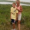 Brandon & Mom on Cuttyhunk