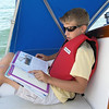 Checking out the cruising guide