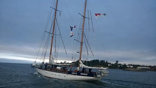 HMCS Oriole, a very pretty boat in the event