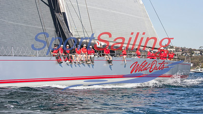 Wild Oats XI in Sydney to Gold Coast Yacht Race 2017