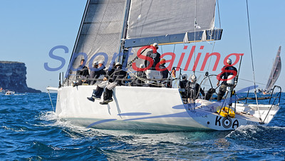 Koa - Gold Coast Yacht Race Photography by Sport Sailing Photography
