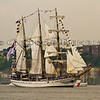Opsail 2012 New York<br /> DEWARUCI of Indonesia