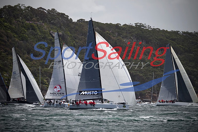 Calm sponsored by Musto, 2012 Sydney to Hobart