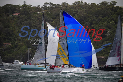 AFR Midnight Rambler, Frantic, 2012 Sydney to Hobart
