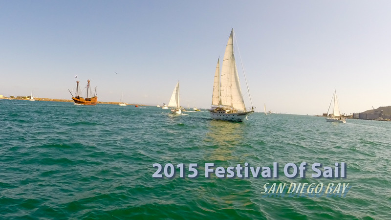 2015 Festival Of Sail - San Diego Bay