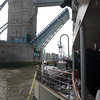 Sailing through Tower Bridge