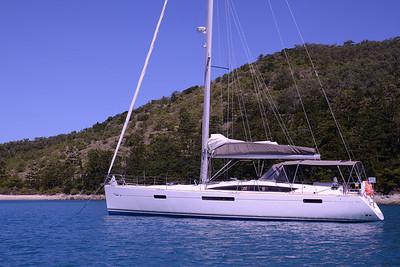 """""""Quattre Filles"""", a real go boat."""