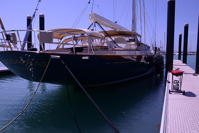 "Even the clears sparkled, on ""Sassafras"", a Ron Holland design 112 footer."