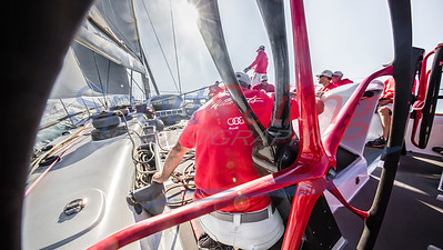 Wild Oats XI - through the wheel
