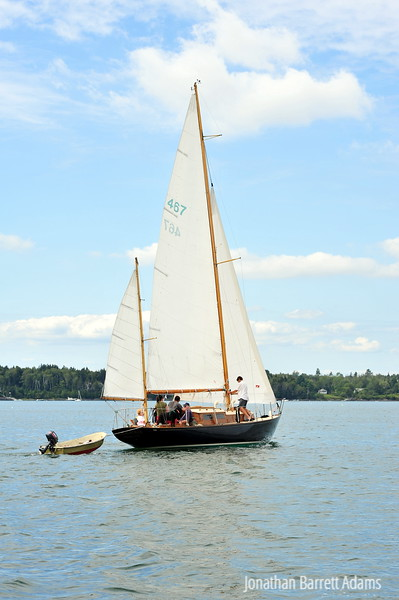 Navigatrix Under Full Sail