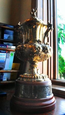 Queen's Cup Sail Boat Race trophy