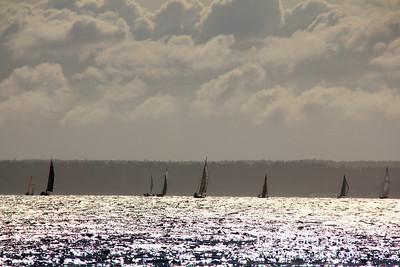 Seabreeze over bright waters, St. Margaret's Bay, Nova Scotia.
