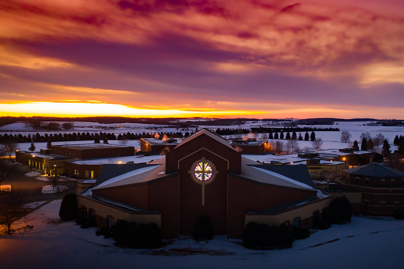 Saint Ambrose - Sunrise Exterior JAN2020-101