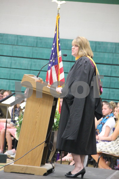 Saint Edmond High School President was one of many of the special speakers at the  Saint Edmond graduation ceremonies on May 17, 2015