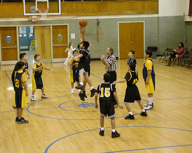 SFA B-Team Bball 1-24-09