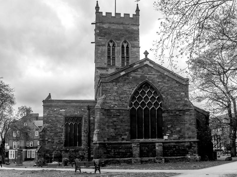 Chancel and Tower, St Giles' Church, Northampton