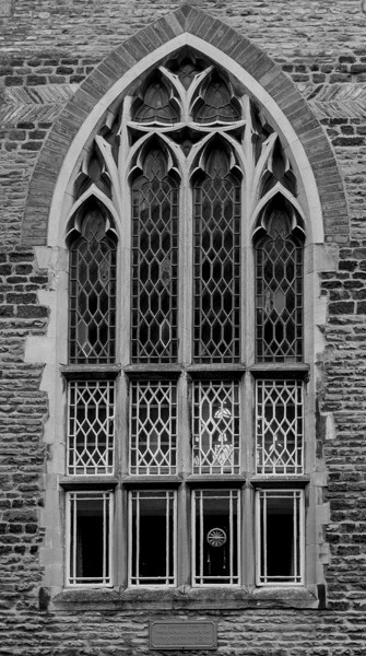 Window,  St Giles' Parochial School, Northampton