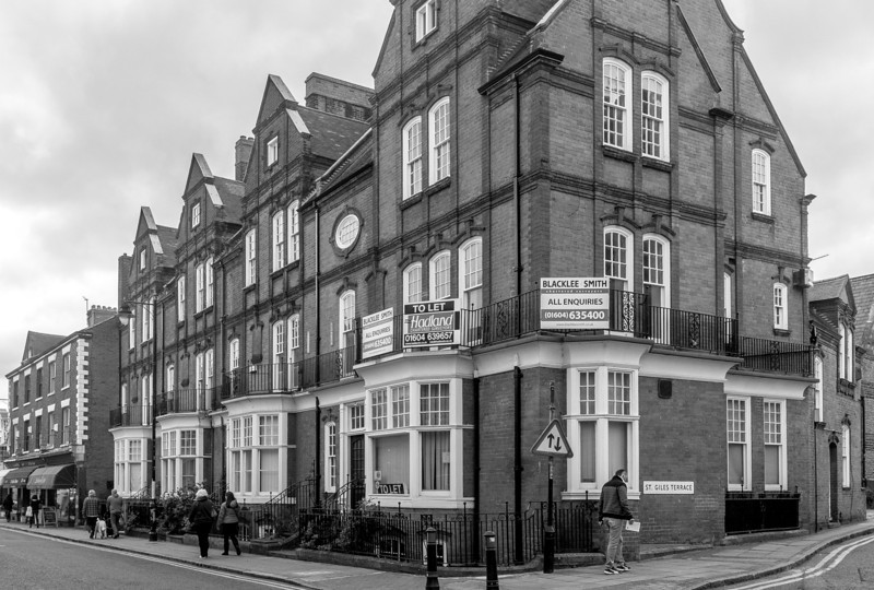 Terrace by Matthew Holding,  St Giles' Street, Northampton_