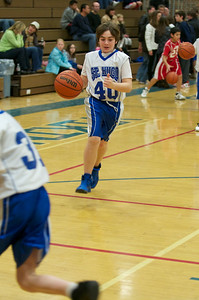 Hugo 6th grade basketball 2010-12-18  11