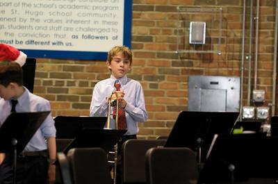 Hugo Christmas band concert 2009 2009-12-15  2