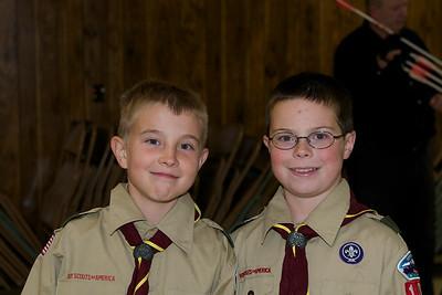 Boy Scout Archery mtg  2009-10-14  3
