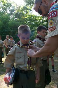 BSA Summer Camp Cole CB  2009-06-21  136