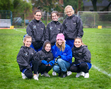 Hugo 5th Grade Cheerleading 2010-10-02  5