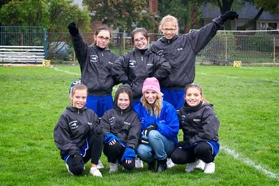 Hugo 5th Grade Cheerleading 2010-10-02  1