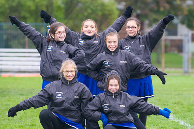 Hugo 5th Grade Cheerleading 2010-10-02  10