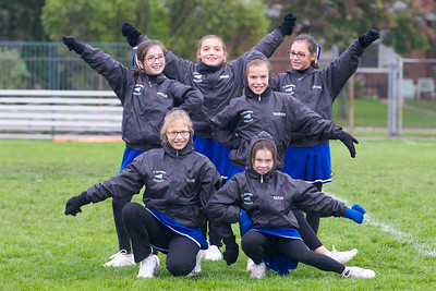 Hugo 5th Grade Cheerleading 2010-10-02  11