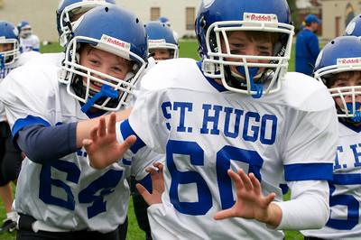 6th Grade Football vs Shrine   2010-10-02  9